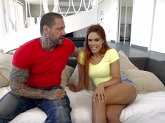 Hottest pornstars Gala Brown, Rob Diesel in Horny Small Tits, College xxx movie