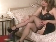 Nylon Stocking Mother I'd Like To Fuck