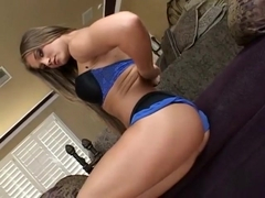 Horny pornstars Barbara Summer and Eva Angelina in best masturbation, latina adult clip