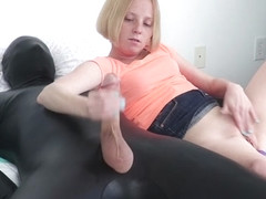Alyssa Hart Makes Him Cum On His Face - FinishHim