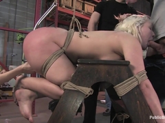 Krissy Leigh Fisted And Ass Fucked In Public - PublicDisgrace