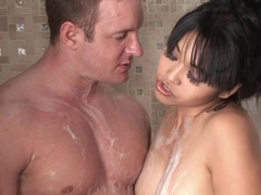 Amazing pornstar Mika Tan in Incredible Big Tits, Showers adult clip