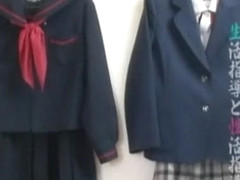 Best Japanese chick Haruka Ito in Hottest College/Gakuseifuku, Small Tits JAV scene