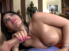 Eva Gets an Anal Massage