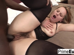 European Milf Magda Wants To Try Some Black Cock - PrimeEuro