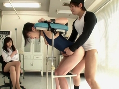 Horny Japanese chick in Crazy Teens, Gym JAV scene