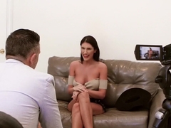 Amazing whore August Ames becomes the best Hollywood slut
