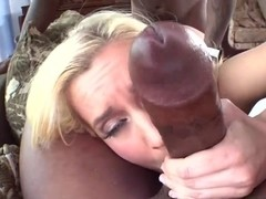Big cock double penetration and happy facial for Gina