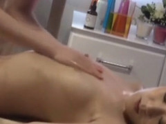 Incredible Japanese chick Fuuka Minase in Crazy Couple, Massage JAV scene