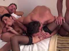 Gabrielle Gucci & Lena Love threesome