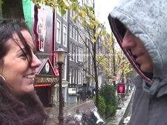 Real Sex Tourist Busting His Nut In Amsterdam