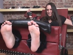 No Mercy for Extremely Ticklish Girl