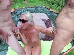 Forest Gangbang with Noire 2018 Pt 7
