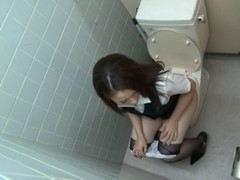 Rin Ayame Gets Her Hairy Teen Pussy Fucked In The Office