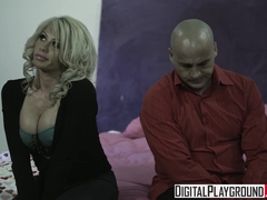 Busty blonde Brooke Haven -New Dad In Town Ben English - Digital Playground