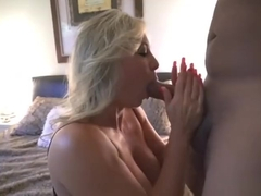 Hot mature sex and cum in mouth