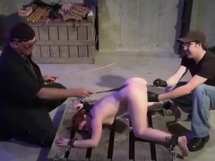 Dungeon Master Trains Dungeon Apprentice How To Flog And Sexually Torment