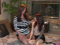 Amazing pornstars Riley Jensen, Alicia Silver in Crazy Fingering, Panties xxx clip