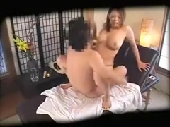 Buxom Oriental beauty gets her snatch pounded hard by a hor