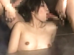 Fabulous Japanese whore in Incredible Group Sex, Shower JAV clip