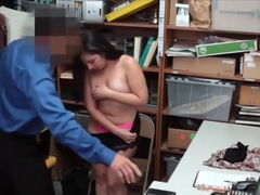 Chubby Shoplifter Teen Caught And Gets Fucked Hard