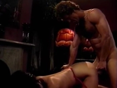 Amber Lynn, Candy Samples, Jenny B. Goode in vintage xxx movie