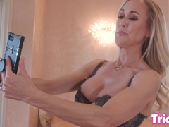 Trickery - Busty MILF Brandi Love has sex with her step son