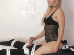 Hot mistress bondage with orgasm
