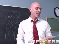 Big Tits at School - Diamond Kitty - Teen Learned first hand Biology Class - Brazzers