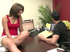 Horny pornstar Eva Angelina in amazing big tits, cumshots sex movie
