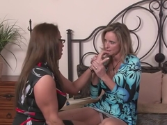 Fabulous pornstars Jodi West and Stacie Starr in crazy milf, dildos/toys adult scene