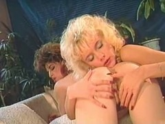 Two hot hairy retro lesbian babes enjoying a great fuck