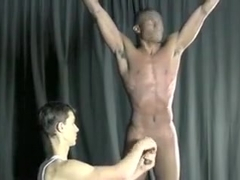 Incredible homemade gay movie with Interracial, Handjob scenes