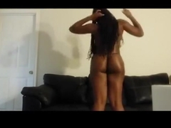Twerk: Black college girl dancing like a hoe 2
