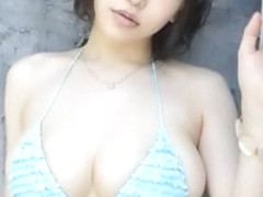 Amazing Japanese chick Anri Okita in Horny Big Tits, Fingering JAV scene