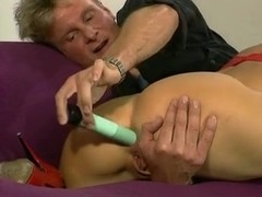 Dolly Buster Anal Fucking and Cumshot