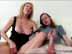 Erica Lauren: Tricky Step Son Handjob - Over40Handjobs