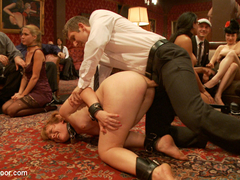 Penny Barber & Danny Wylde & Pink & Claire Robbins in Anal Slave Barks To Come While House Slave E.
