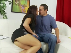Horny pornstar Jasmine Rouge in fabulous cunnilingus, interracial xxx video