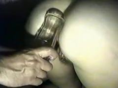 flask in ass