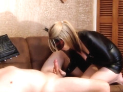 Blonde Is Sucking Dick