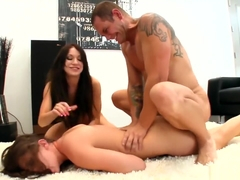 LiveGonzo Amy Brooke & Gracie Glam Orgasmic Teen Threesome