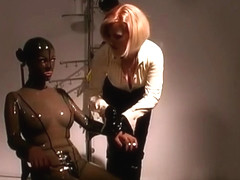 Horny pornstars Marina Montague and Anastasia Pierce in crazy fetish, bdsm xxx scene