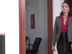 Geni Juice & Csoky Ice & Toby in Double Duty at the Office - 21Sextury