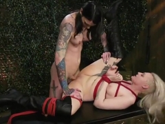 Strong-willed arielle aquinas gets pounded into submission