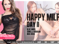 Blue Angel & Nick Ross & Ornella Morgan in Happy MILF's day II - VirtualRealPorn