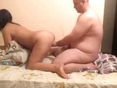Crazy homemade blowjob, cowgirl, curly xxx video