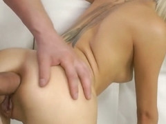 Gaping Ass Beauty Anally Fucked Doggystyle