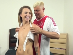 Hottest pornstars Carmen Callaway, Maddison Callaway in Crazy College, Tattoos adult movie