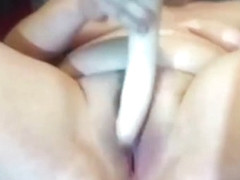Loud moaning submissive BBW slut into BDSM lifestyle